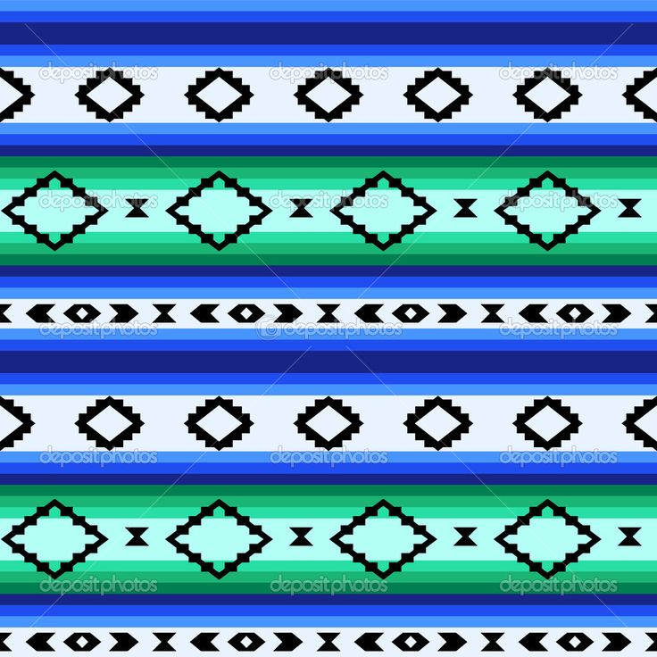 depositphotos_33039133-Striped-mexican-blanket-seamless-pattern-in-blue-and-green-vector.jpg (1024×1024)