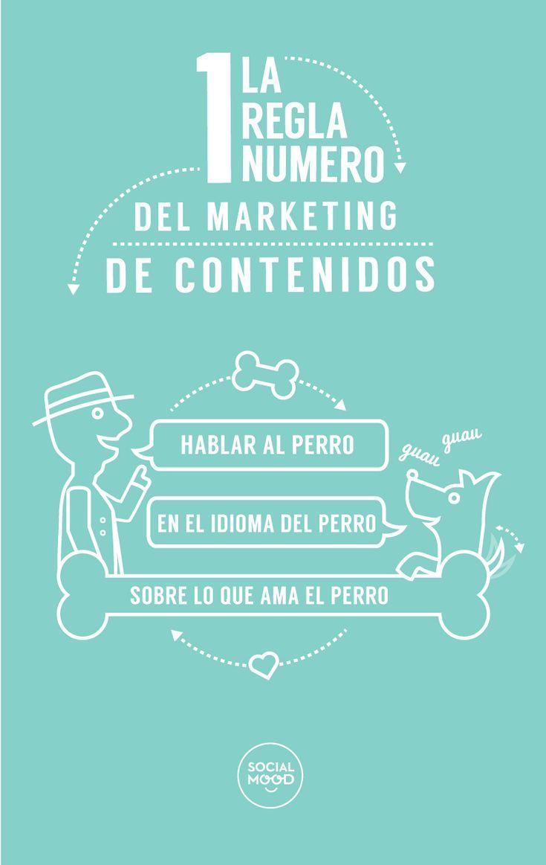La primera regla del marketing de contenidos #infogafia #infographic #marketing