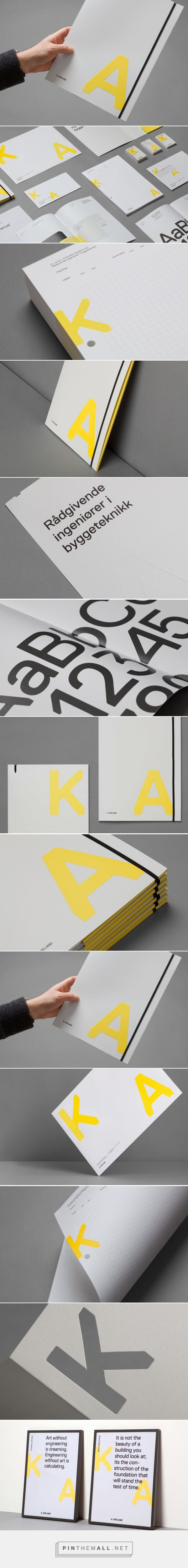 New Brand Identity for K. Apeland by Bielke&Yang — BP&O... - a grouped images picture - Pin Them All