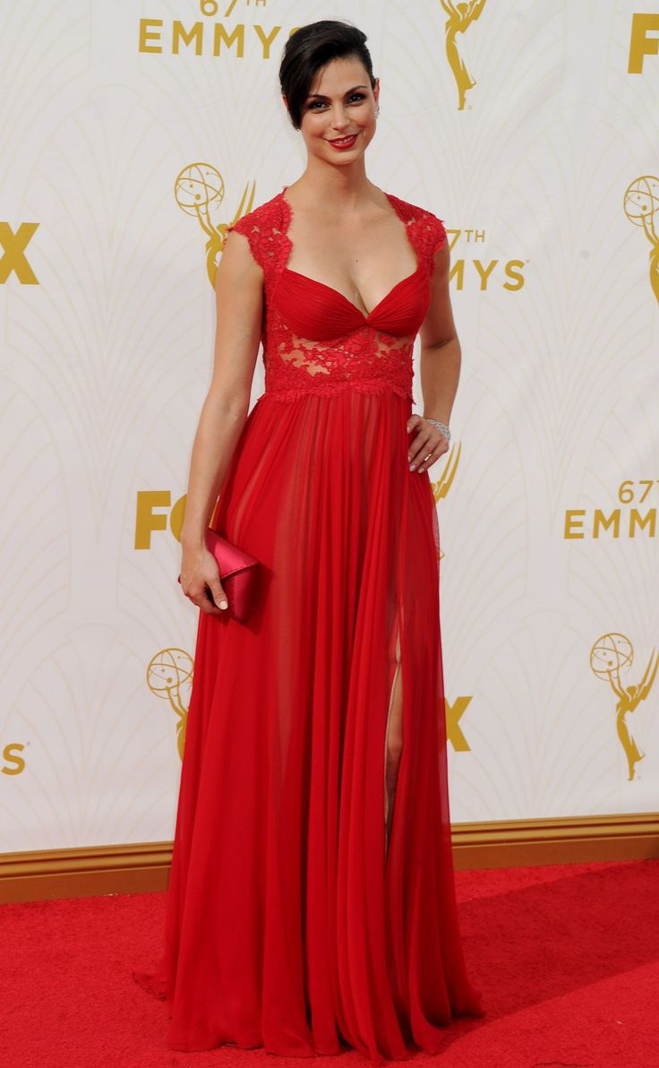 MORENA BACCARIN at 2015 Emmy Awards in Los Angeles 09/20/2015