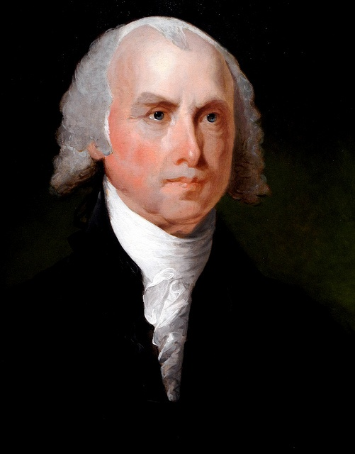 James Madison by Gilbert Stuart c. 1821