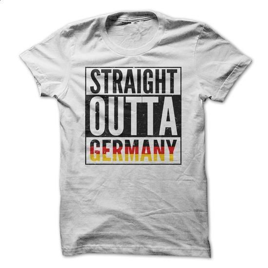 Straight Outta Germany Shirt - #white shirts #t shirt company. ORDER NOW => https://www.sunfrog.com/Movies/Straight-Outta-Germany-Shirt.html?60505
