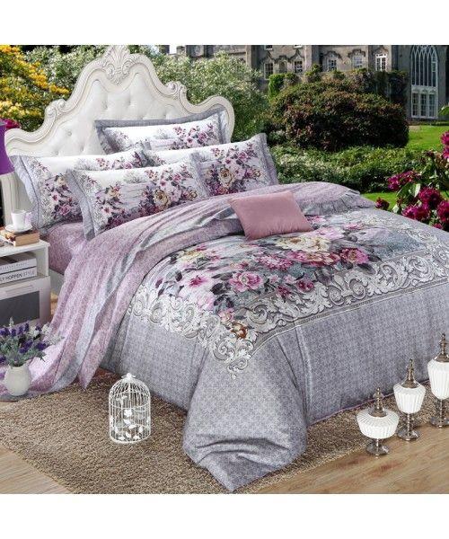 Luxury Egyptian Cotton Sateen Bed Set [HBS-05-00198]