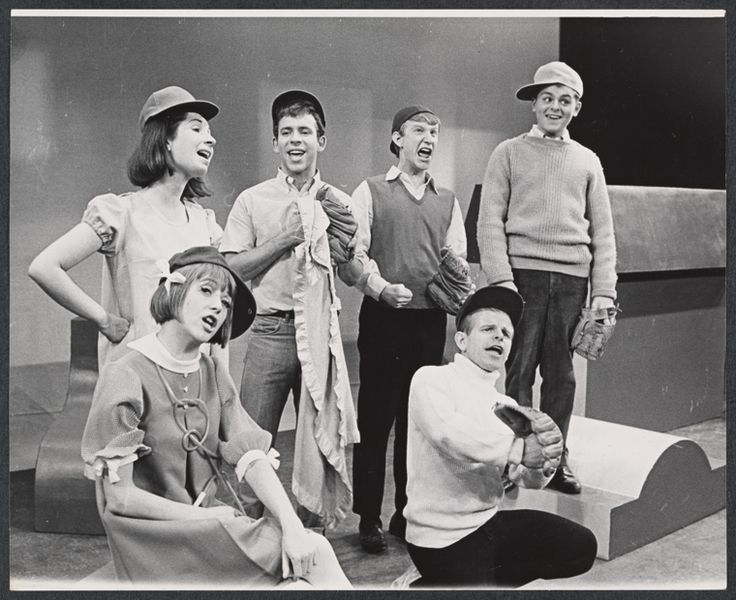 Original cast from the 1967 production of You're a Good Man, Charlie Brown.  Radar was in this one.
