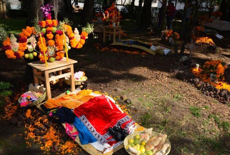 Zócalo y Museo de Antropología se convierten en altar a los muertos - Grupo Milenio