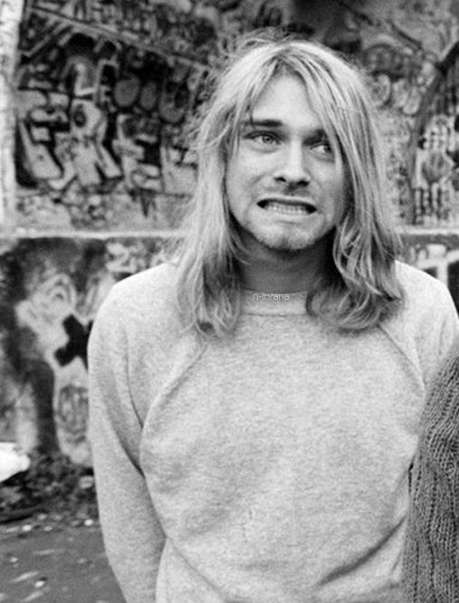 •• Kurt Cobain •• did u know he used to want to be a drummer he got that thought when he got his first beatles album @Chloe Kasper