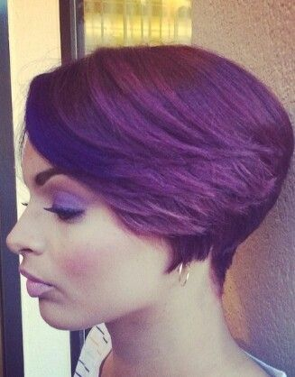 Color and bob style From instagram salonchristol