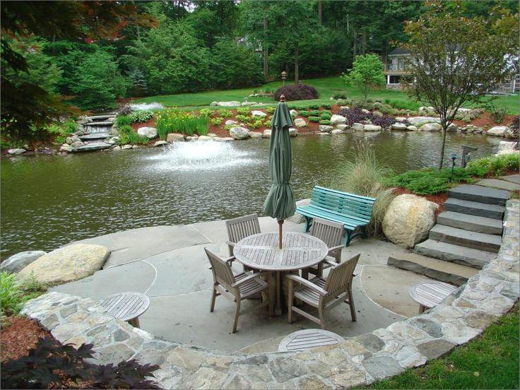 Best 25+ Pond landscaping ideas on Pinterest | Fish ponds ...