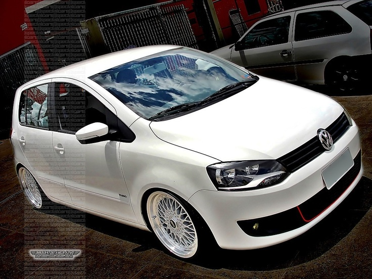 "VW Fox rebaixado com BBS 18"" http://www.specialcars.com.br/vitrine/fox-rebaixado-rodas-bbs-aro-18"