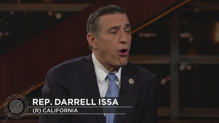Rep. Darrell Issa Interview | Real Time with Bill Maher (HBO)
