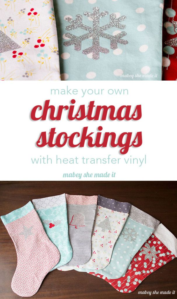 15 mejores imágenes sobre Christmas Stockings en Pinterest | Vinilos ...