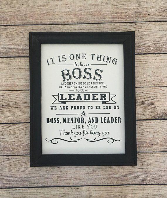 Boss Appreciation Gift Boss Thank You Gift We Best Boss