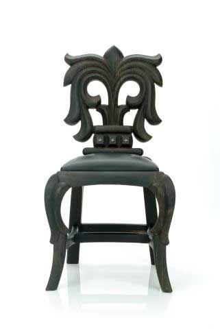 Chrome Hearts Chair ¿Arte o decoración? o ¿Art-decó?