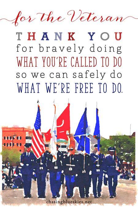 On Veteran's Day - Thank You. #LoveMyVeteran