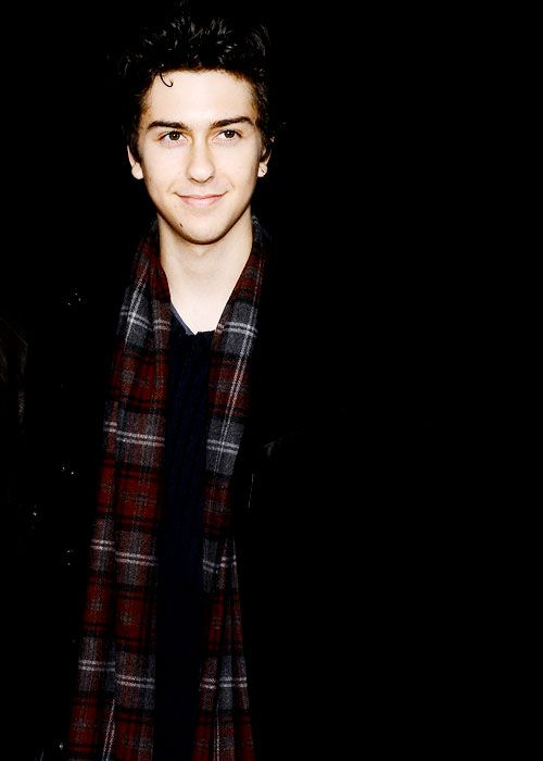 Nat Wolff- when I was in elementary school I had a huge celebrity crush on him. Still do now :)