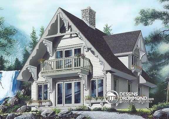 Plan De Maison Unifamiliale W4932 Dessinsdrummond