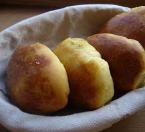 Тыквенные пирожки с паштетом