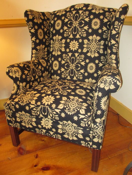 New Berks County Wing Chair 3.gif Http:/. Colonial FurnitureTraditional ...