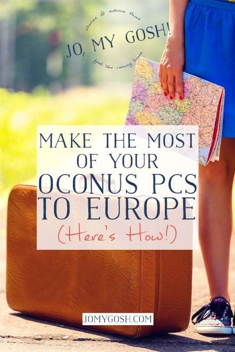 Moving to Europe with the military sounds awesome! Here's the one thing you have to do if you end up OCONUS there.