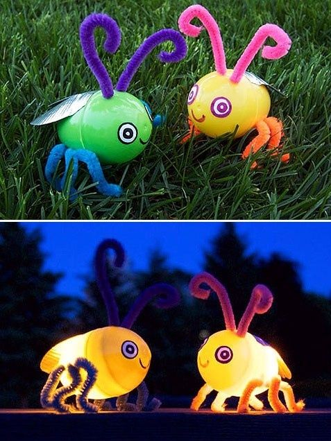 Easter Egg Firefly - and 22 other great Easter crafts for kids