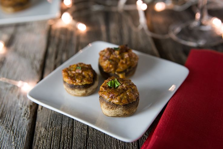 mouthwatering stuffed mushrooms recipe allrecipescom - 1100×733