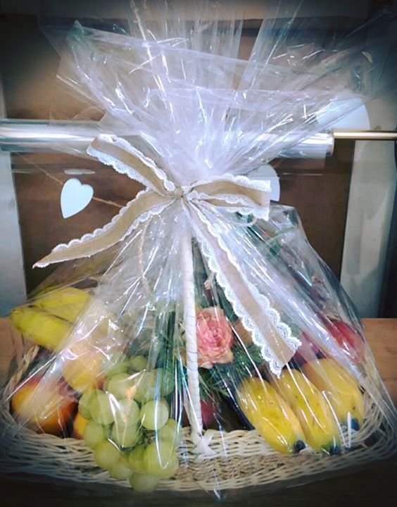 Fruit hamper for any occasion by Coralee's Florist & Decor #fruithamper #gift #baskets