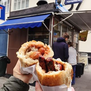 The sandwiches from Ostermalms Korvspecialist | 29 Of The Best Cheap Eats In Stockholm
