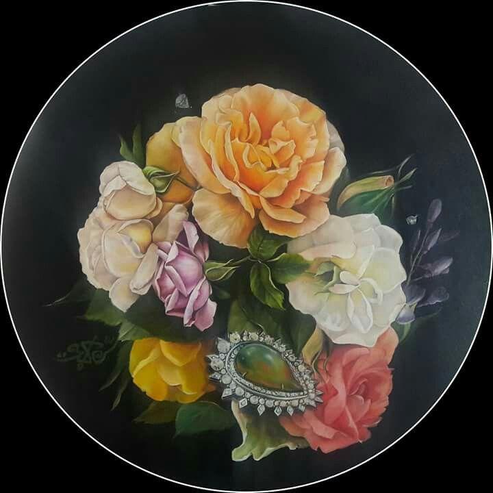 50x50 oil on canvas AYŞE SERIM