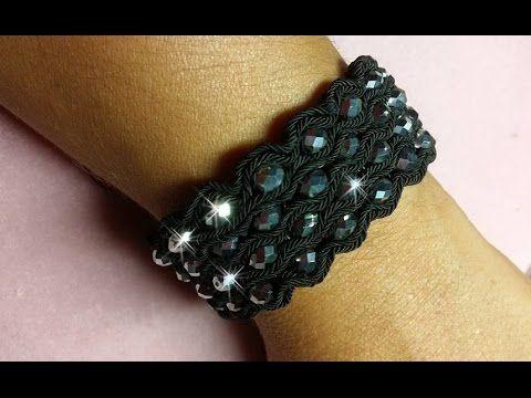 DIY - Bracciale Soutache a fascia - Soutache Bracelet
