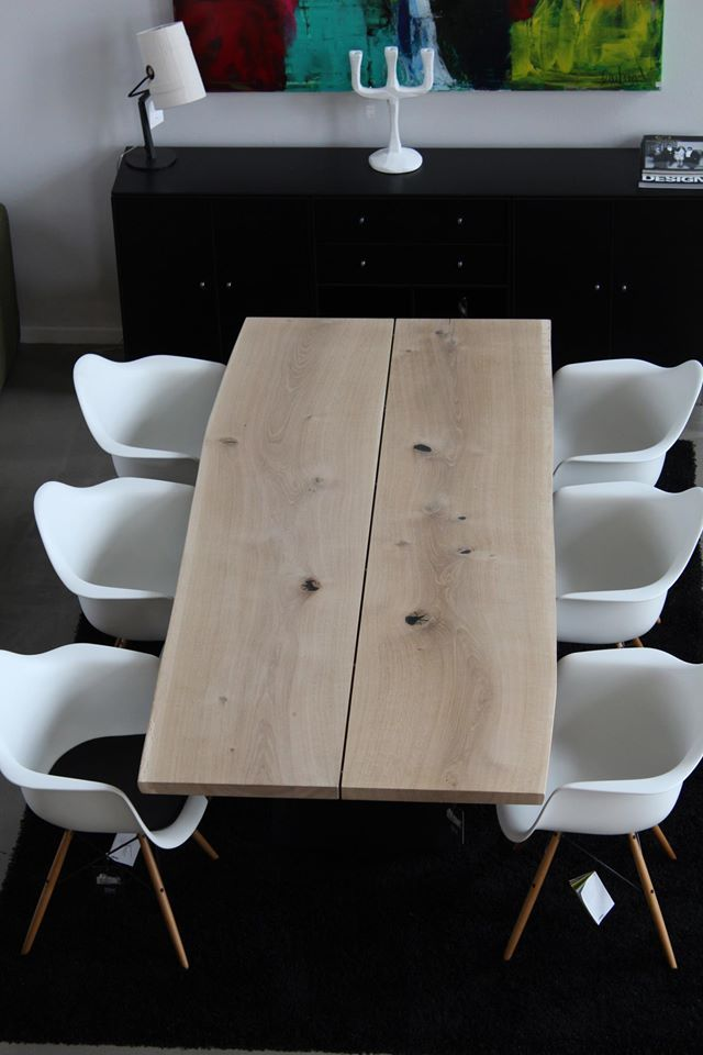 tree table with eames chairs - Google Search