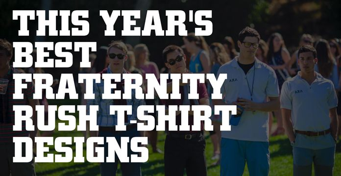 Fraternity Rush T-Shirt Designs that Will Boost Your Recruitment Game :https://www.rushordertees.com/blog/fraternity-rush-t-shirt-designs-that-stand-out/