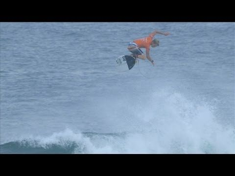 Video: In case you missed it last month -  Surfer John John Florence pulled off one of the greatest moves in surfing history - the Alley Oop.