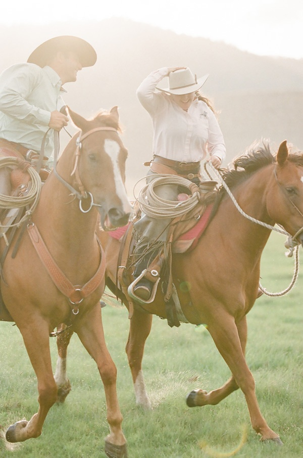 Engagement Love  Cowboy Loves Cowgirl  @oncewed