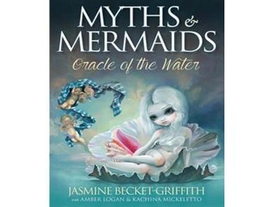 Myths & Mermaids - Illustrated to represent working with the elements, with a strong focus on water.  Water is the key to life and can bring and take life away.  This deck brings insight from those mythical creatures who can command and channel water and use it to their power.    A lovely mythical pack that brings a depth and mystery with it.