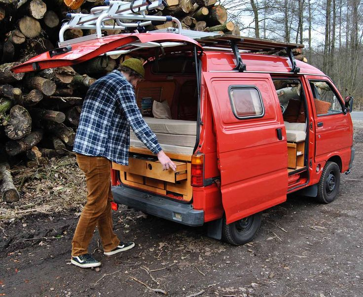 189 best micro campers small vans images on pinterest micro campers suzuki carry and cars. Black Bedroom Furniture Sets. Home Design Ideas