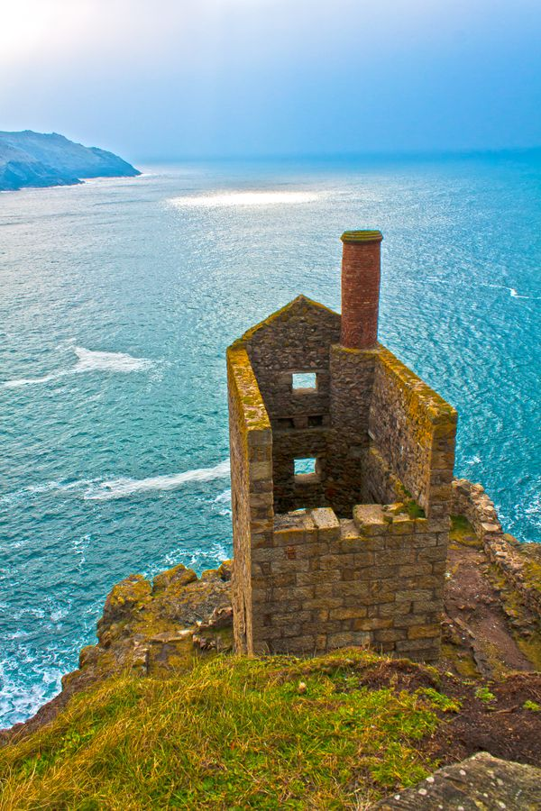 Tin Mine Ruins ~ are located in Botallack on the north coast of Cornwall, England