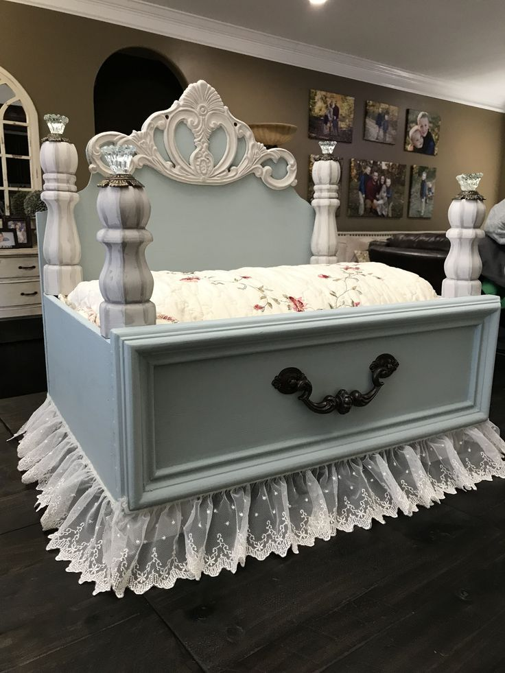 A Princess Pet/Dog Bed I made for our little Maltipoo