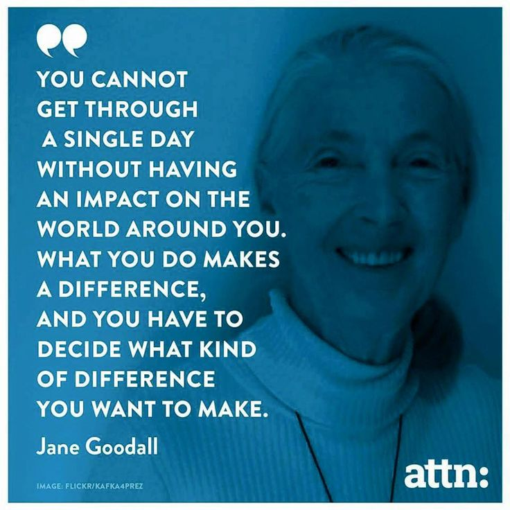 Jane Goodall Quotes: 42 Best Images About Quotes From Our Center On Pinterest