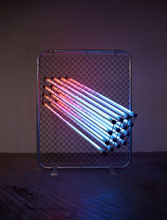 Light Sculptures by James Clar