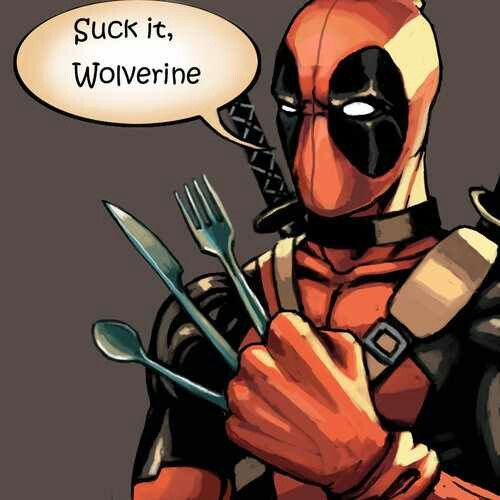 Wolverine ain't got nothin' on Deadpool
