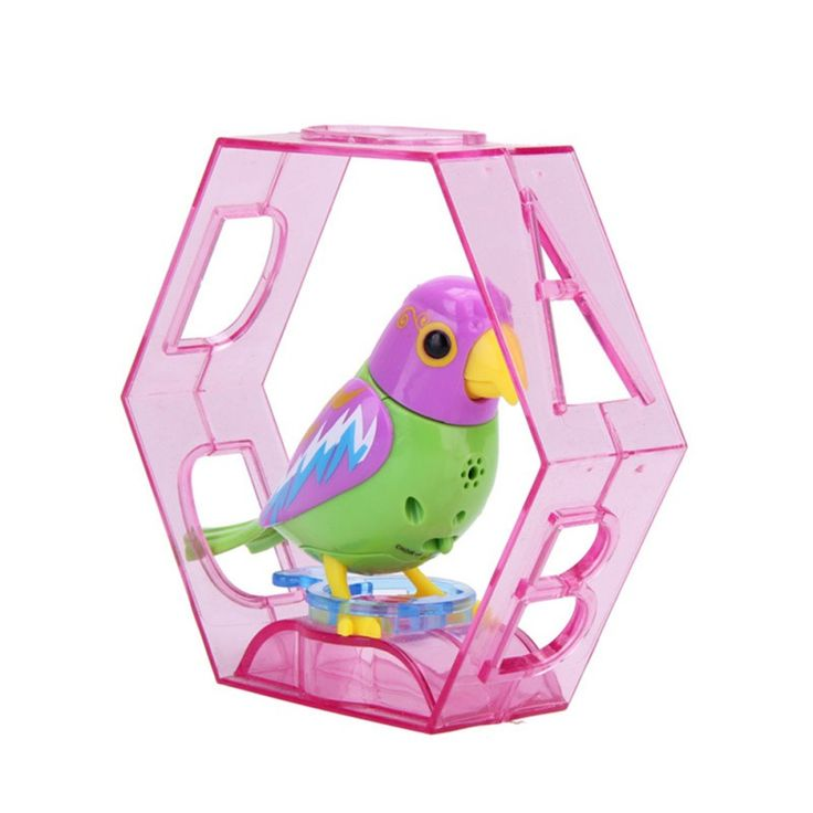 20 Songs Singing Sound Birds Pets Sing Solo Intelligent Music Toys Digibirds Music Bird Kids Children Electric Toys