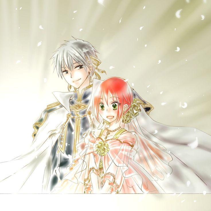 Akagami no Shirayukihime: Red hair, shojo, love, prince, manga, large dress