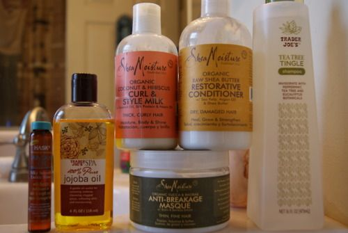 some natural hair product suggestions