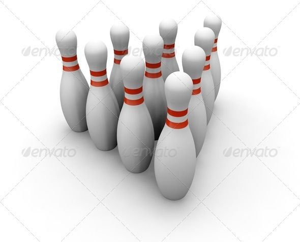 Bowling skittles  #GraphicRiver         3D render of bowling skittles     Created: 20May11 GraphicsFilesIncluded: JPGImage Tags: 3d #ball #bowling #compete #competition #concept #game #hobby #isolated #object #pin #pins #render #skittle #sport #strike #ten