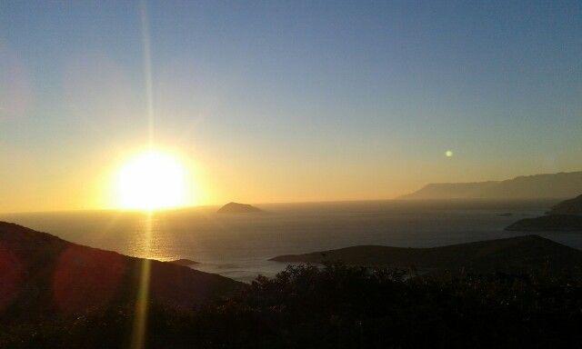 Fournoi sunset