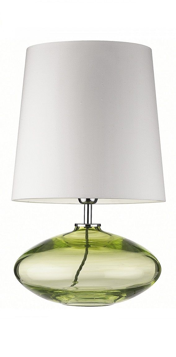 Heathfield co crocus table lamp olive