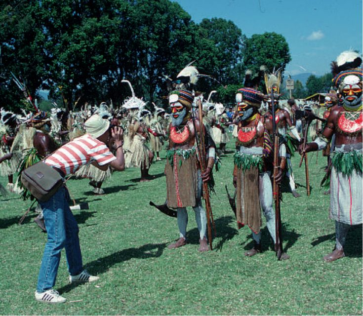 Destination PNG, Circa 1995. Business Potential: Tourism Overview