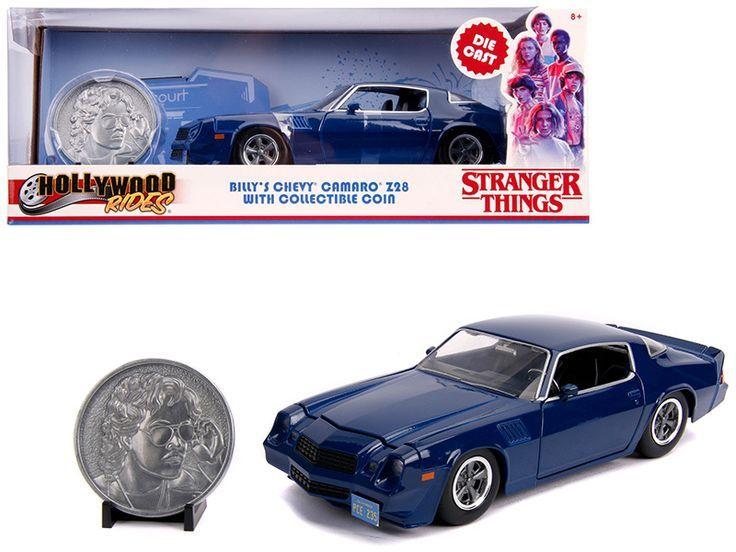 Billy S Chevrolet Camaro Z28 Dark Blue With Collectible Coin