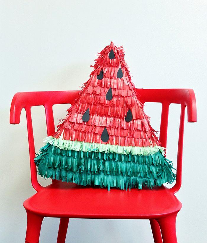 Cinco de Mayo Watermelon Piñata - The Glue String