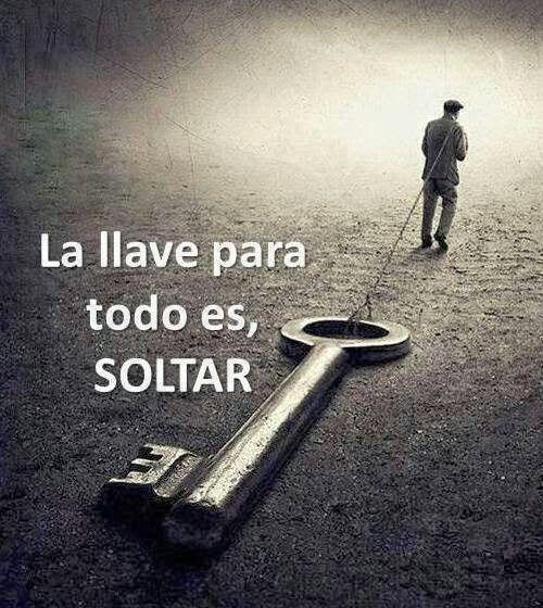 Para que haiga un camino libre sin adversidad,ay que soltar la negatividad,soltar el yo no pueso,soltar los problemas que se meten en la vida y solucionarlo rapido,y la llave para todo es SOLTAR.